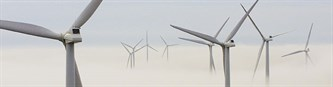 Turbines In Fog