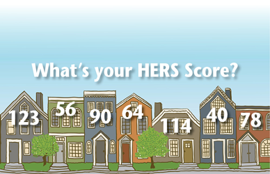 HERS Score Neighborhood